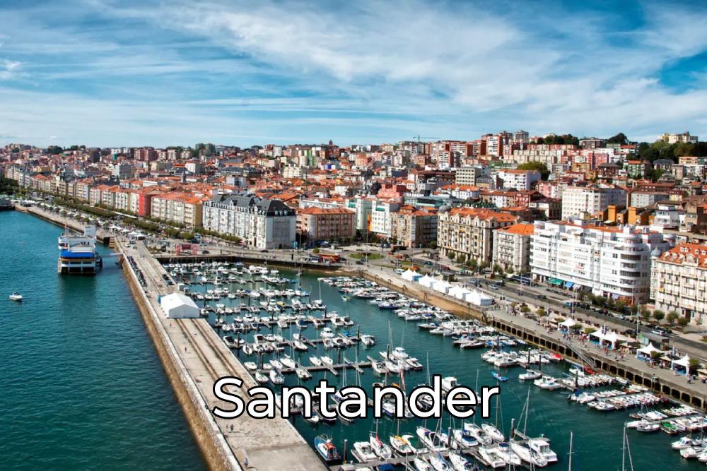 Viajar por Santander